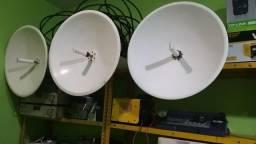 Link Áudio e Vídeo Ao Vivo com mesa de corte de 04 canais (Link Microondas 7G0)