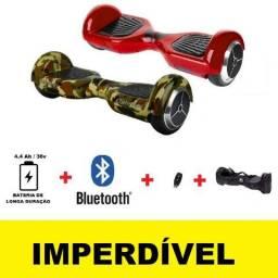 Hoverboard Novo com Bluetooth, Controle e Capa de Brinde