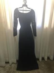 Vestido de gala Regina Salomão