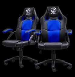 Cadeira Gamer Mas Racer V6 Azul -Pcyes