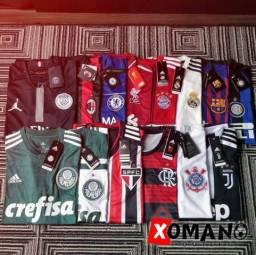 Camisetas Futebol | Psg Jordan, Barcelona, Real, Corinthians, Flamengo