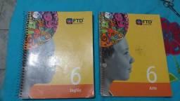 6a66bb7c43796 Kit de livros ftd com todos os módulos contendo tbm inglês artes filosofia