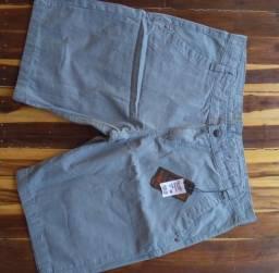 Shorts masculinos de tecido até o n° 50