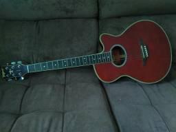 Vendo violão tagima elétrico em 10 vezes no cartão