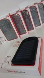 Carregador Solar Resistente a Água e Poeira Universal