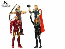Combo C/ 4 Bonecos/Action Figures Marvel (Entrega Grátis)