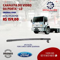 CANALETA DO VIDRO DA PORTA -LD ORIGINAL FORD