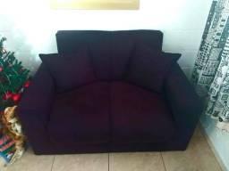 Sofa dois lugares valor 300 reais