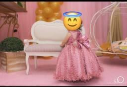 Vestido tal mãe tal filha princesa
