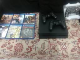 PS4 + tv