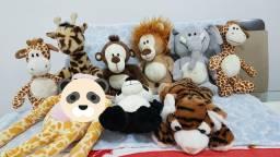 Bichos de pelúcia, tema Safári, zoo, animais comprar usado  Bertioga