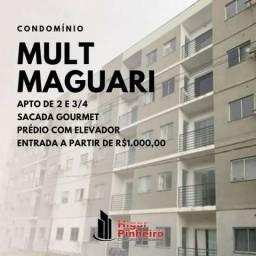 Condomínio Multi Maguari, 2 e 3 quartos, 1000 de entrada