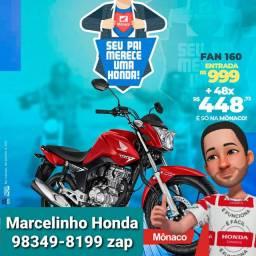 FAN 160 ESDI 2020 - FINANCIAMENTO BANCO HONDA