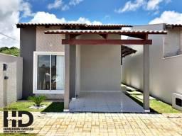 Residencial Bromélias, Casas com 59 m2, 2 quartos, garagem e área de serviço coberta