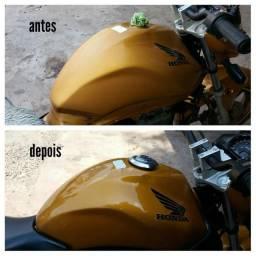 Espelhamento em moto