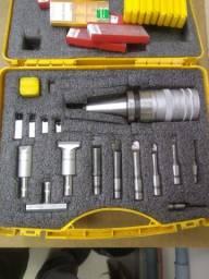 Romicron jogo de ferramentas de precisão Romi com insertos para centro de usinagem