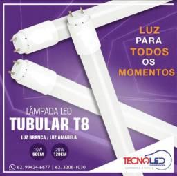 Lâmpada Led Tubular T8 1,20m 120cm-18w Tubolar