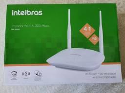 Roteador Wi-Fi/Repetidor Intelbras 300Mbps