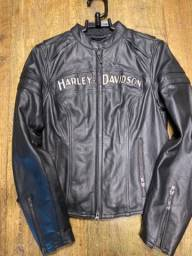 Título do anúncio: Jaqueta de Couro Harley Davidson