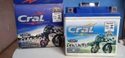 Bateria de moto nova