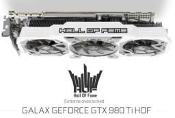 Título do anúncio: Hof Gtx 980 Ti - Hall Of Fame - Edição Especial - Exclusiva!