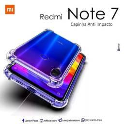 Capinha de Silicone Note 7/ Note 7Pro /Note 7S   @jrofficialstore