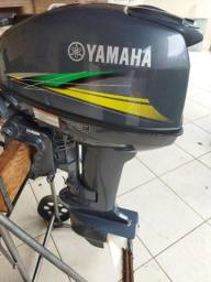 Título do anúncio: Motor Yamaha 15 ano 2018