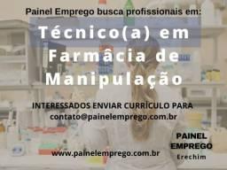 Título do anúncio: Técnico em Farmácia de Manipulação