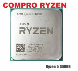 Título do anúncio: AMD Ryzen: 3400G / 4350G / 4650G / 5600G