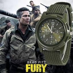 Relógio Militar Gemius Army Modelo 2021 - Brad Pit Fury - Salvador - Bahia