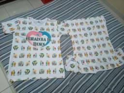 2 Blusas Cuidadora Idosos