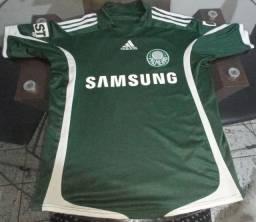 Camisa Palmeiras 2009 Oficial Adidas Verde Tamanho P