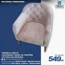 Título do anúncio: Poltrona Ferradura - (Entrega Grátis)