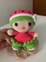 Amigurumi - Boneca de Crochê