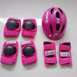Título do anúncio: Kit de proteção (infantil) - Bike, Skate, Roller