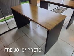 Título do anúncio: Escrivaninha de Home Office Nova 1.27m x 53cm - Entrego e Monto