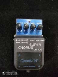 Pedal guitarra Super Chorus
