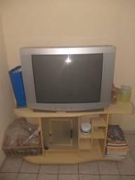 Televisão e raqui