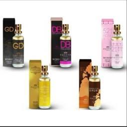 Título do anúncio: perfumes amkha paris 15ml perfume de bolso