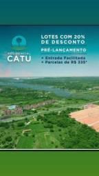 Título do anúncio: ( AQUIRAZ ) LOTEAMENTO RESIDENCIAL CATU 360 M²