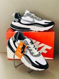 Tenis Masculino Nike React 270 Conforto Garantido Esporte Academia Caminhada Fitness