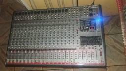 V/essa mesa de som phonic 24 canal