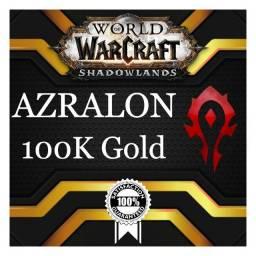 Gold WoW - 100.000 - Azralon Horda