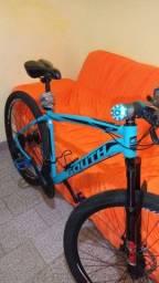 Título do anúncio: Bike aro 29 , semi nova , com nota fiscal