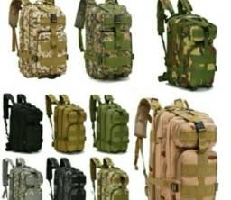 Título do anúncio: Promoção 10 mochilas Táticas Militares diversas cores