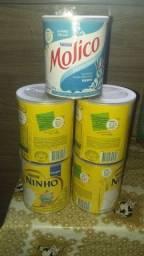 Título do anúncio: Latas de leite vazias para decoração
