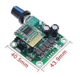 Mini amplificador Bluetooth digital 30watts Estéreo 10v a 24v DC,USB,Aux,Key