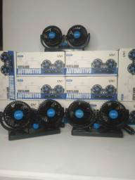 Título do anúncio: Ventilador automotivo duplo Knup 12V