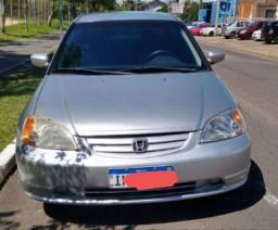Honda Civic 1.7 Automático 2002 barbada