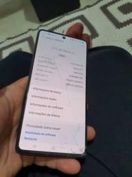 Galaxy A71 Cinza 128GB, 6GB de RAM OBS: Tem trinco que não interfere